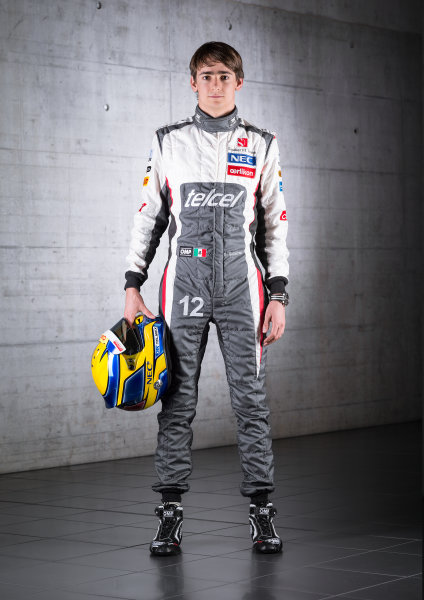Hinwil, Switzerland   Esteban Gutierrez, Sauber F1.  Photo: Sauber F1 () ref: Digital Image EG_FullBody_03