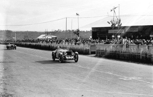 Le Mans, France.15-16 June 1929.Louis Balart/Louis Debeugny (Tracta-SCAP), 9th position.Ref-Motor 746/5.World Copyright - LAT Photographic