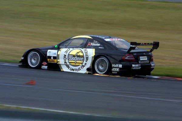 Marcel Fassler (SUI) AMG Mercedes finished third.DTM Championship, Rd6, Lausitzring, Germany. 14 July 2002.DIGITAL IMAGE