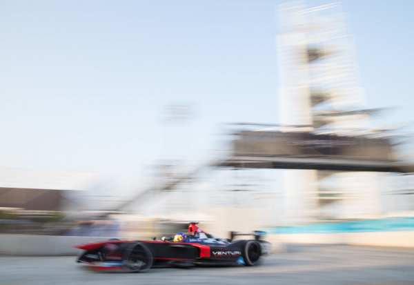 FIA Formula E Championship 2015/16. Beijing ePrix, Beijing, China. Venturi's Jacques Villeneuve   Beijing, China, Asia. Friday 23 October 2015 Photo:  / LAT / FE ref: Digital Image _L1_3407