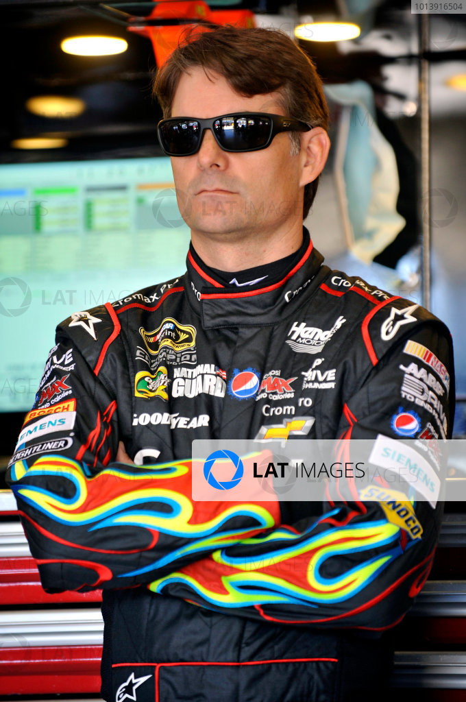 11-13 April, 2013, Fort Worth, Texas USA Jeff Gordon ©2013, Nigel Kinrade LAT Photo USA