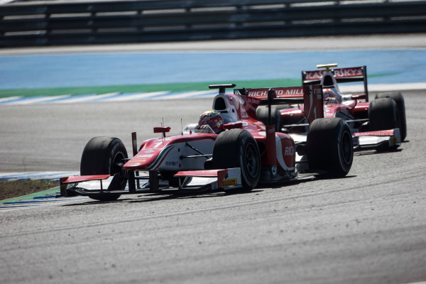 2017 FIA Formula 2 Round 10. Circuito de Jerez, Jerez, Spain. Sunday 8 October 2017. Charles Leclerc (MCO, PREMA Racing).  Photo: Andrew Ferraro/FIA Formula 2. ref: Digital Image _FER3419
