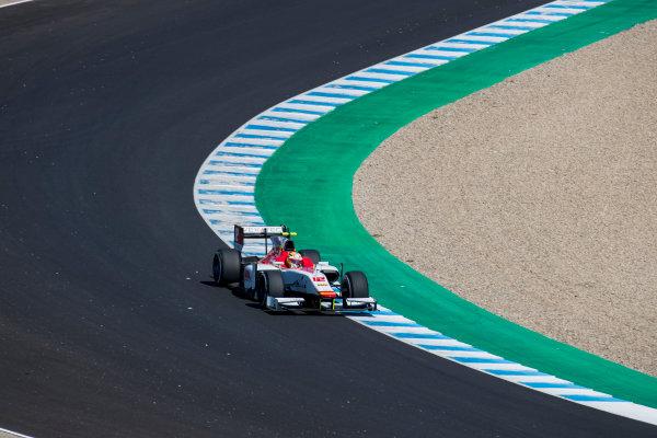 2017 FIA Formula 2 Round 10. Circuito de Jerez, Jerez, Spain. Sunday 8 October 2017. Alex Palou (JPN, Campos Racing).  Photo: Zak Mauger/FIA Formula 2. ref: Digital Image _56I7623