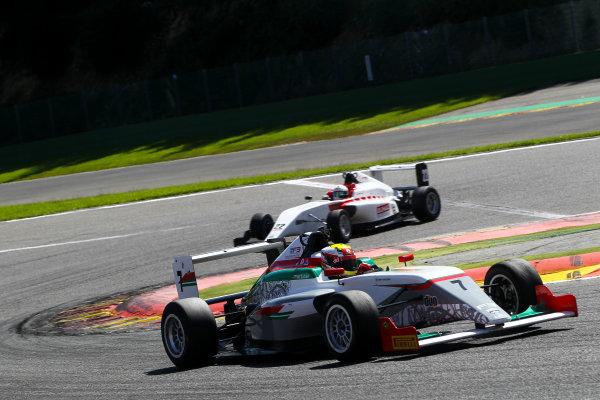 2016 BRDC F3 Championship, Spa-Francorchamps, Belgium. 7th - 9th July 2016. Al Faisal Al Zubair (OMA) Fortec Motorsports BRDC F3. World Copyright: Ebrey / LAT Photographic.