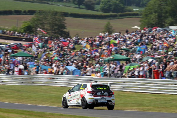 2016 Renault Clio Cup.  Oulton Park, Cheshire. 4th-5th June 2016, Ollie Pidgley (GBR) Ciceley Motorsport Renault Clio Cup  World copyright. Jakob Ebrey/LAT Photographic