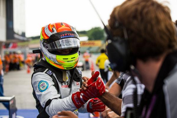 2016 GP3 Series Round 4 Hungaroring, Budapest, Hungary. Sunday 24 July 2016. Arjun Maini (IND, Jenzer Motorsport)  Photo: Sam Bloxham/GP3 Series Media Service. ref: Digital Image _SBB8234