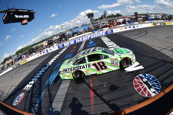 15-17 July, 2016, Loudon, New Hampshire USA Kyle Busch, Interstate Batteries Toyota Camry ?2015, Nigel Kinrade LAT Photo USA