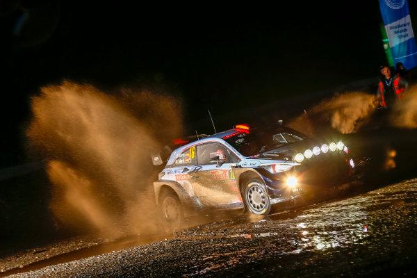 2017 FIA World Rally Championship, Round 12, Wales Rally GB, 26-29 October, 2017, Dani Sordo, Hyundai, action, Worldwide Copyright: LAT/McKlein