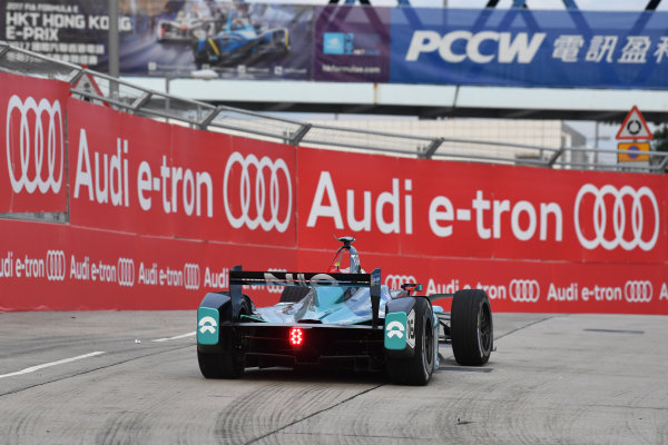 2017/2018 FIA Formula E Championship. Round 1 - Hong Kong, China. Saturday 02 December 2018. Oliver Turvey (GBR), NIO Formula E Team, NextEV NIO Sport 003. Photo: Mark Sutton/LAT/Formula E ref: Digital Image DSC_8554