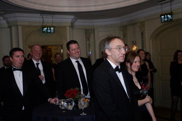 2013 Autosport Awards. Grosvenor House Hotel, Park Lane, London. Sunday 1st December 2013.  Mark Hughes.  World Copyright: Sam Bloxham/LAT Photographic. ref: Digital Image _LOX6197