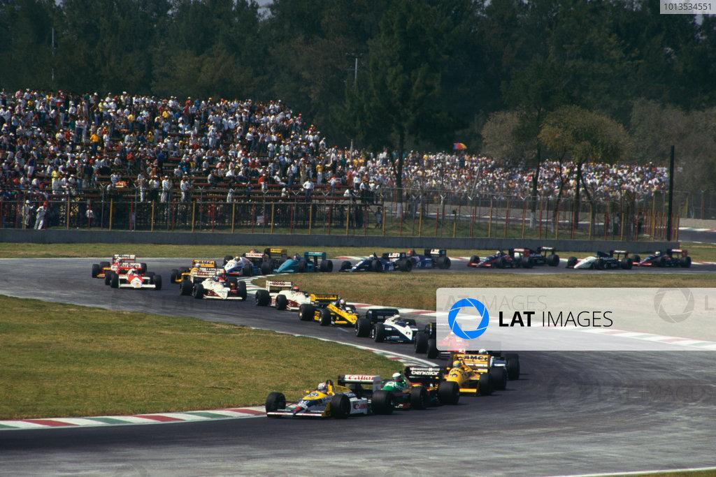 1987 Mexican Grand Prix.