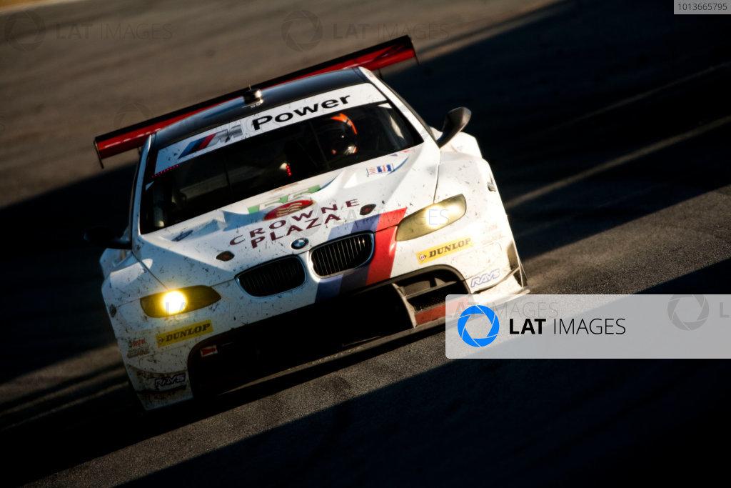 American Le Mans Series. Laguna Seca, Monterey, California. 15th - 17th September 2011. Dirk Werner / Bill Auberlen, BMW Team RLL, BMW E92 M3. Action. Photo: Drew Gibson/LAT Photographic. ref: Digital Image _Y2Z6826