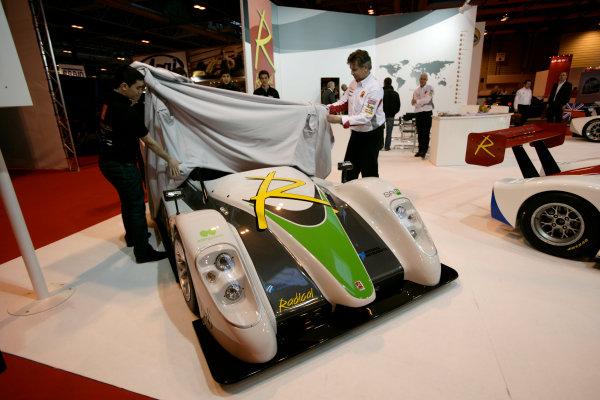 NEC, Birmingham. 14th January 2010.The Radical SRZero electric car is unveiled.World Copyright: Drew Gibson/LAT Photographicref: Digital Image _Y8P4488