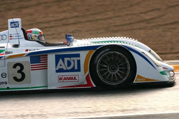 June 13-19, Le Mans FranceTom Kristensen during wet Wednesday practice Copyright 2005, Richard Dole, LAT Photographic.
