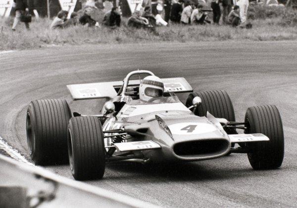 1969 Dutch Grand Prix.Zandvoort, Holland. 21 June 1969.Jackie Stewart, Matra MS80-Ford, 1st position, action.World Copyright: LAT PhotographicRef: L69/632 #25
