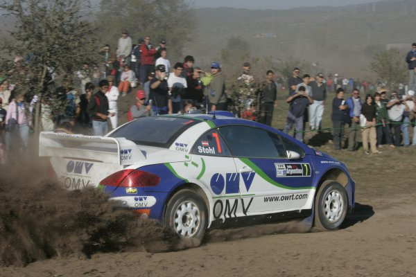 2006 FIA World Rally Champs. Round 6Rally Argentina. 27th-30th April 2006Manfred Stohl, Peugeot, action.World Copyright: McKlein/LAT