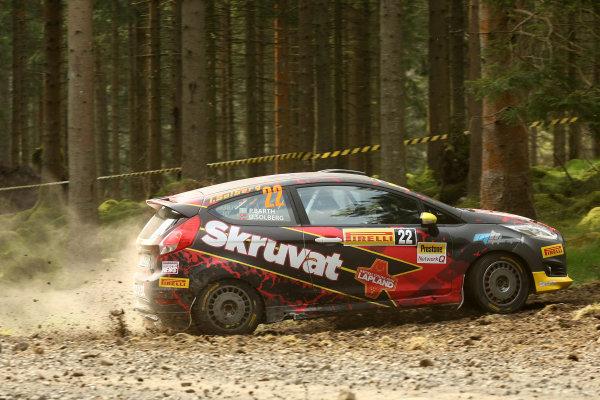 2017 Prestone MSA British Rally Championship,  Pirelli International Rally, Carlisle. 29th - 30th April 2017. Oscar Solberg / Patrik Barth Ford Fiesta R2T. World Copyright: JEP / LAT Images.