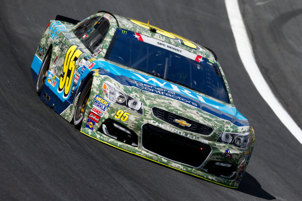 Monster Energy NASCAR Cup Series Coca-Cola 600 Charlotte Motor Speedway, Concord, NC USA Thursday 25 May 2017 Michael McDowell, Leavine Family Racing, WRL General Contractors Chevrolet SS World Copyright: Lesley Ann Miller LAT Images