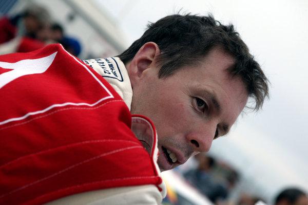 2003 FIA World Rally Champs. Round Eleven Sanremo Rally 2nd-5th October 2003.Colin McRae, Citroen, portrait. World Copyright: McKlein/LAT