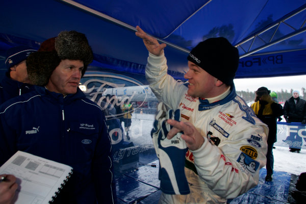 2005 FIA World Rally Champs. Round two Swedish Rally.10th-13th February 2005.Henning Solberg, Ford, portrait.World Copyright: McKlein/LAT