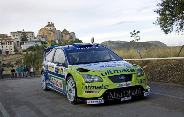 FIA World Rally Championship 2007Round 12Rally of Spain, Catalunya.4th - 7th October 2007Mikko Hirvonen, Ford, action.Worldwide Copyright: McKlein/LAT