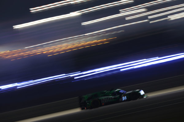 2016 FIA World Endurance Championship, Bahrain International Circuit, 17th-19th November 2016, Ryan Dalziel / Luis Filipe Derani / Christopher Cumming - Extreme Speed Motorsports Ligier JSP2 - Nissan World Copyright. Jakob Ebrey/LAT Photographic