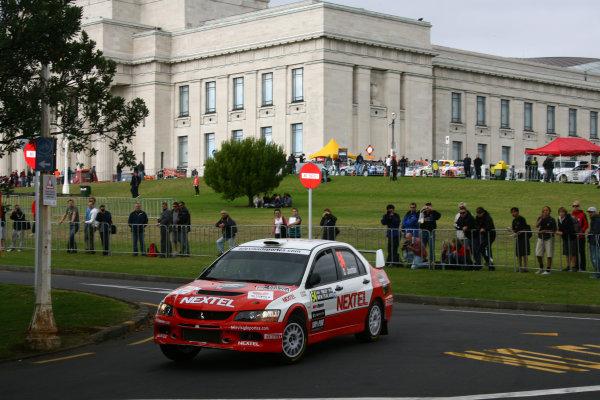 2010 FIA World Rally ChampionshipRound 05Rally New Zealand 7 - 9 May  2010Michel Jourdain, Mitsubishi, ActionWorldwide Copyright: McKlein/LAT