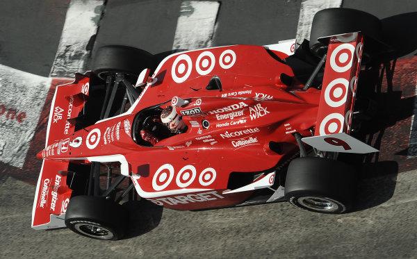 16-18 April 2010, Long Beach, California, USA#9 Target Chip Ganassi Racing's Scott Dixon©Dan R. Boyd LAT Photographic, USA