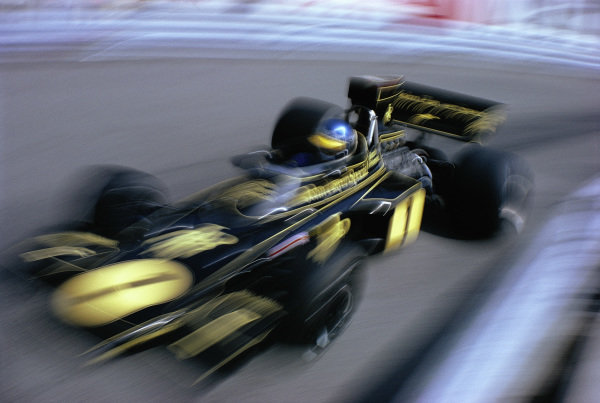 Ronnie Peterson, Lotus 72E Ford.