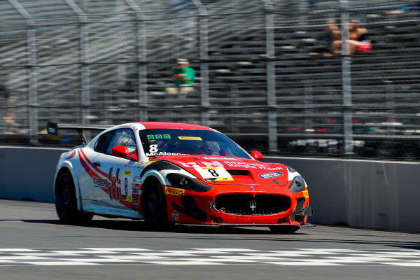 #8 Maserati Grand Turismo MC GT4 of Michael McAleenan and Jerold Lowe  Rose Cup Races, Portland OR