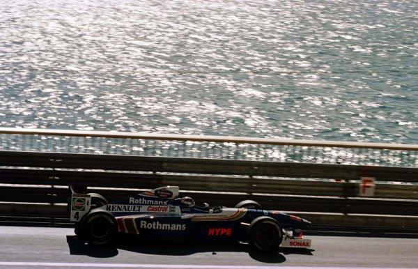 1997 Monaco Grand Prix.Monte Carlo, Monaco.8-11 May 1997.Heinz-Harald Frentzen (Williams FW17 Renault).World Copyright - LAT Photographic