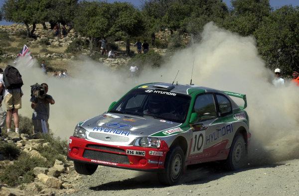 2001 World Rally ChampionshipCyprus Rally June 1-3, 2001Alister McRae on Stage 5Photo: Ralph Hardwick/LAT
