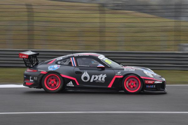 Tanart Sathienthirakul (THA) Absolute Racing at Porsche Carrera Cup Asia, Rd1, Shanghai, China, 7-9 April 2017.