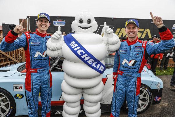 Winners #98 Byan Herta Autosport W Curb-Agajanian Hyundai Veloster N TCR, TCR: Mark Wilkins, Michael Lewis