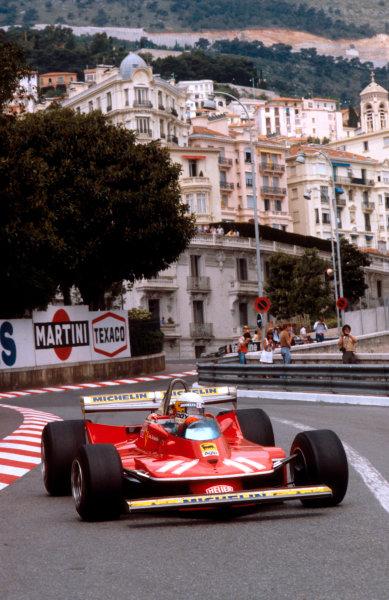 1979 Monaco Grand Prix. Monte Carlo, Monaco. 24-27 May 1979. Jody Scheckter (Ferrari 312T4) 1st position. Ref-79 MON 01. World Copyright - LAT Photographic