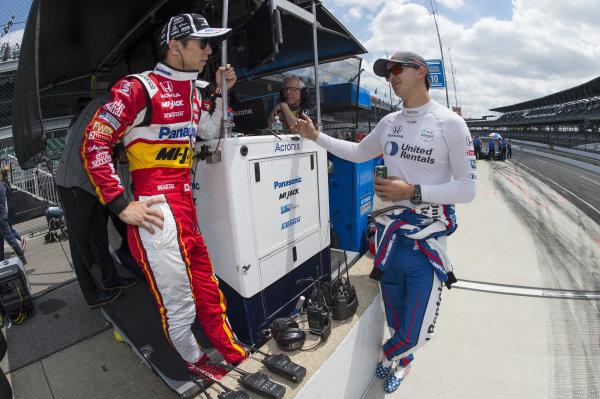 Takuma Sato and Graham Rahal, Rahal Letterman Lanigan Racing Honda
