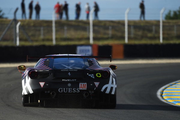 #83 Kessel Racing Ferrari 488 GTE: Manuela Gostner, Rahel Frey, Michelle Gatting