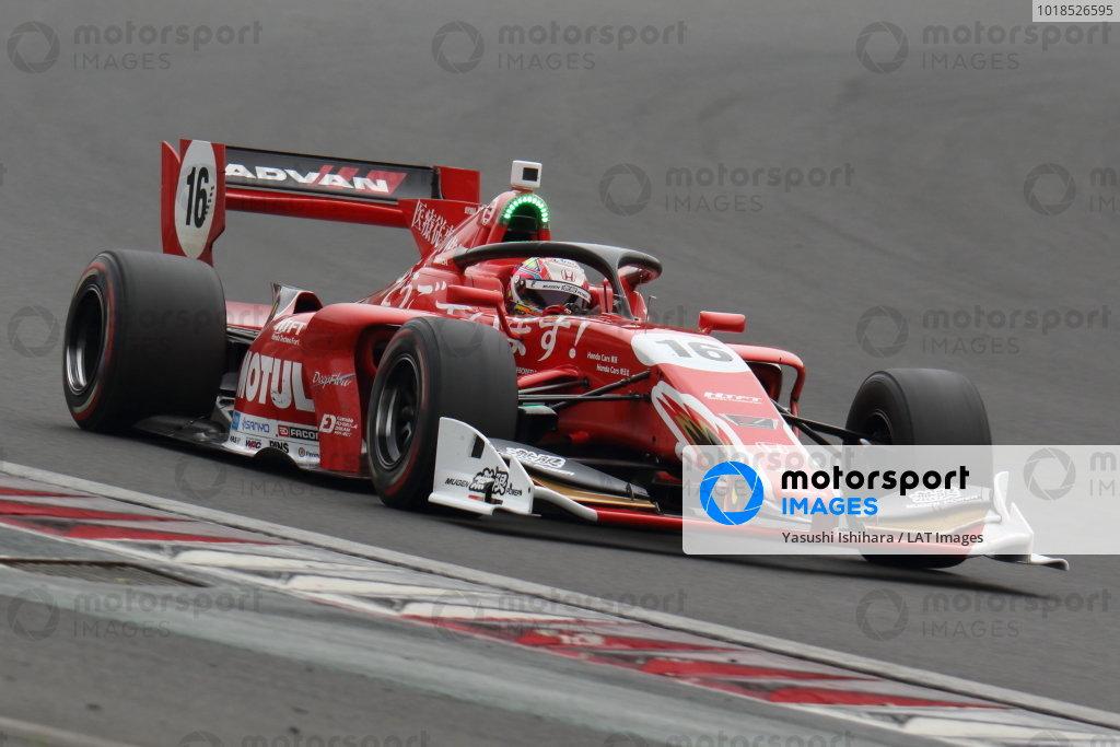 Winner Tomoki Nojiri ( #16 TEAM MUGEN, Dallara SF19 Honda)
