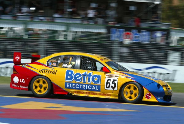 2002 Australian V8 SupercarsAdelaide Clipsal 500. Australia. 17th March 2002.Former Champ Car driver Max Wilson in action in his Betta Electric Ford Falcon. Wilson qualifyed 5 th for the start of Race 1.World Copyright: Mark Horsburgh/LAT Photographicref: Digital Image Only