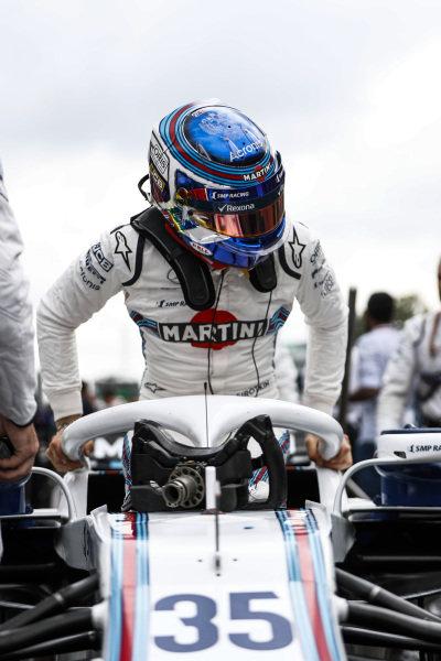 Sergey Sirotkin, Williams FW41 Mercedes.