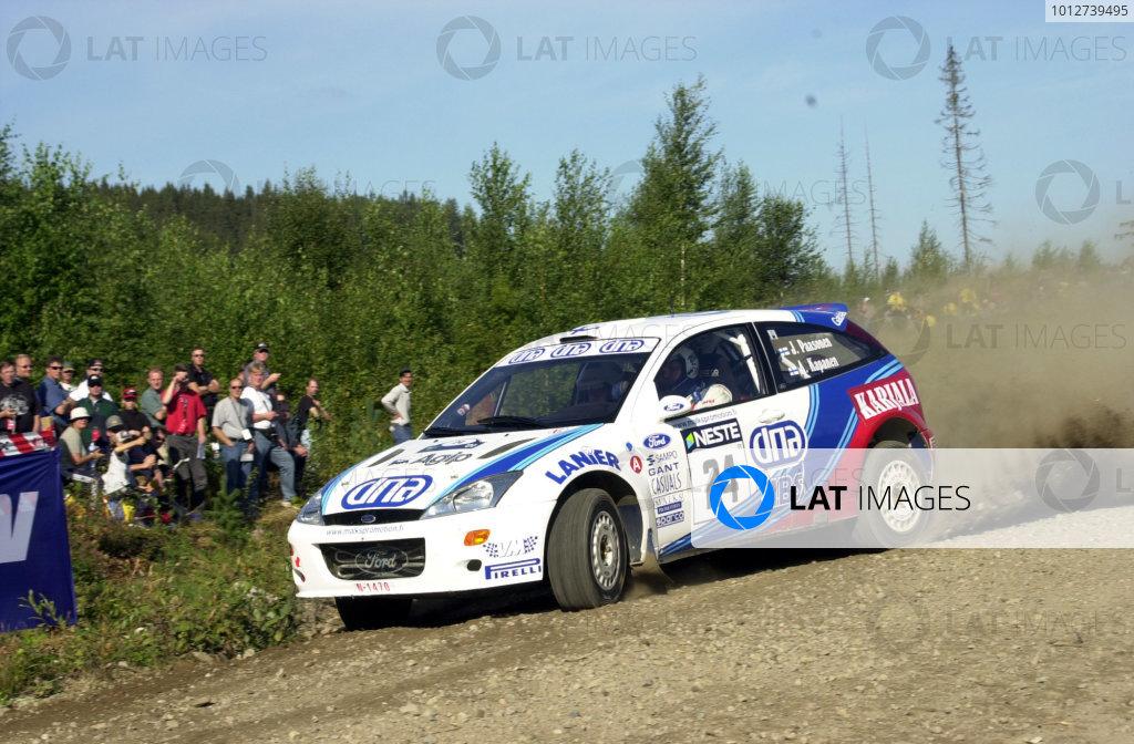 2001 World Rally Championship.