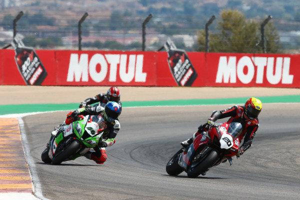 Sylvain Barrier, Brixx Performance, Roman Ramos, OUTDO Kawasaki TPR.