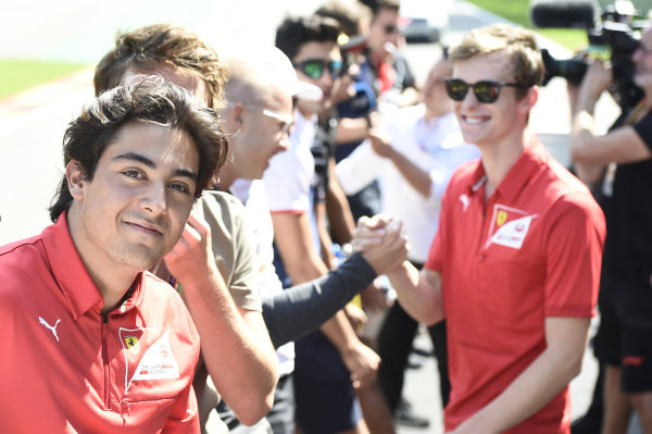 SPA-FRANCORCHAMPS, BELGIUM - AUGUST 31: Giuliano Alesi (FRA, TRIDENT) during the Spa-Francorchamps at Spa-Francorchamps on August 31, 2019 in Spa-Francorchamps, Belgium. (Photo by Gareth Harford / LAT Images / FIA F2 Championship)