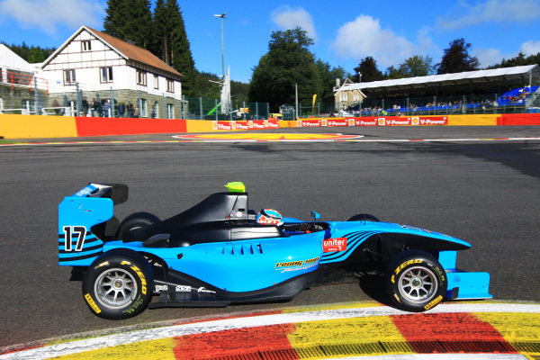 Carmen Jorda (ESP) Ocean Racing Technology. GP3 Series, Rd7, Spa-Francorchamps, Belgium, 31 August - 2 September 2012.