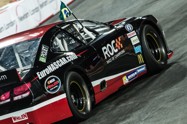 2015 Race Of Champions - Nations Cup Olympic Stadium, London, UK Friday 20 November 2015 Nelson Piquet Jr (BRA) in the Euro Nascar  Copyright Free FOR EDITORIAL USE ONLY. Mandatory Credit: 'IMP'