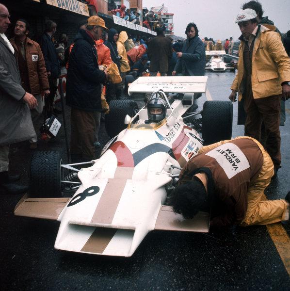 Zandvoort, Holland.18-20 June 1971.Pedro Rodriguez (BRM P160) 2nd position.Ref-3/4774M.World Copyright - LAT Photographic