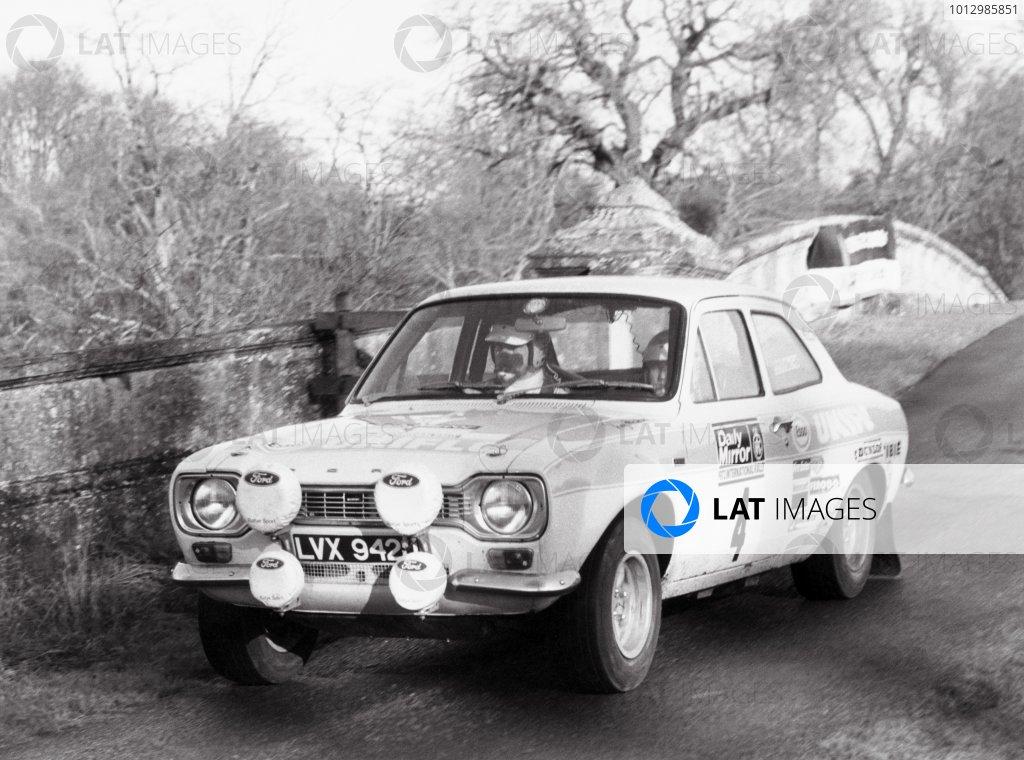 1972 Daily Mirror RAC Rally.