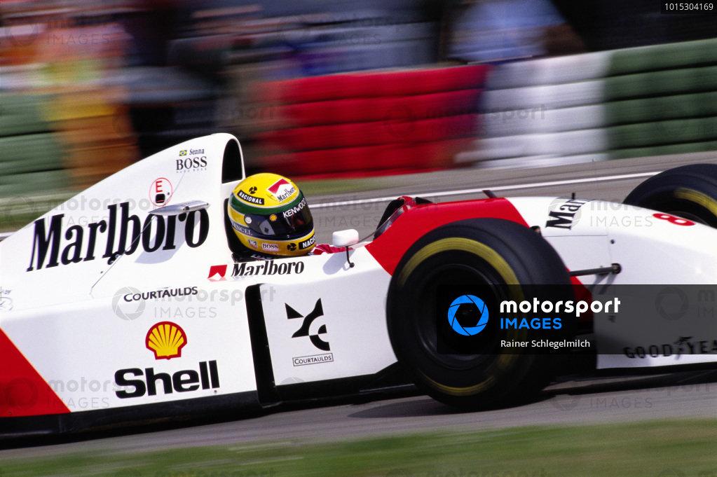 Ayrton Senna, McLaren MP4-8 Ford.