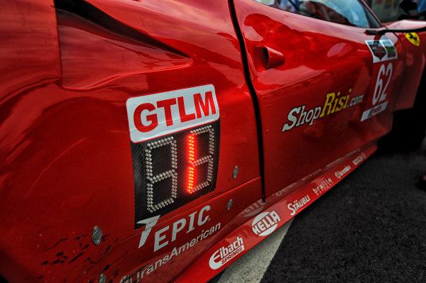 22-24 August 2014, Alton, Virginia USA 62, Ferrari, F458 Italia, GTLM, Giancarlo Fisichella, Pierre Kaffer ?2014, Scott R LePage  LAT Photo USA