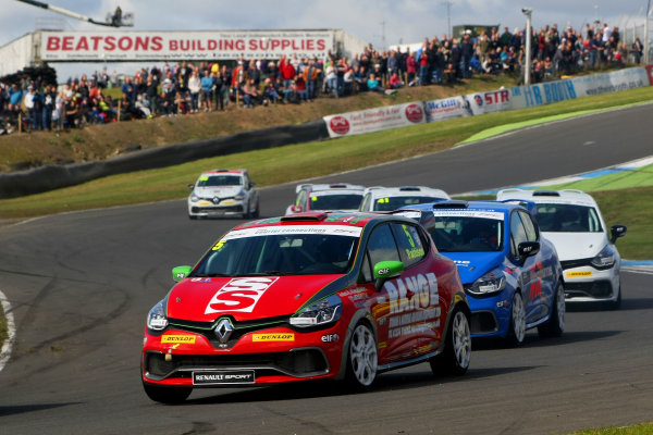 2014 Renault Clio Cup, Knockhill, Scotland. 22nd - 24th August 2014. Lee Pattison (GBR) Team Pyro Renault Clio Cup. World Copyright: Ebrey / LAT Photographic.